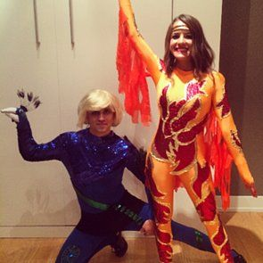 Go For The Gold In This Flashy Couples Costume Idea From Blades Of