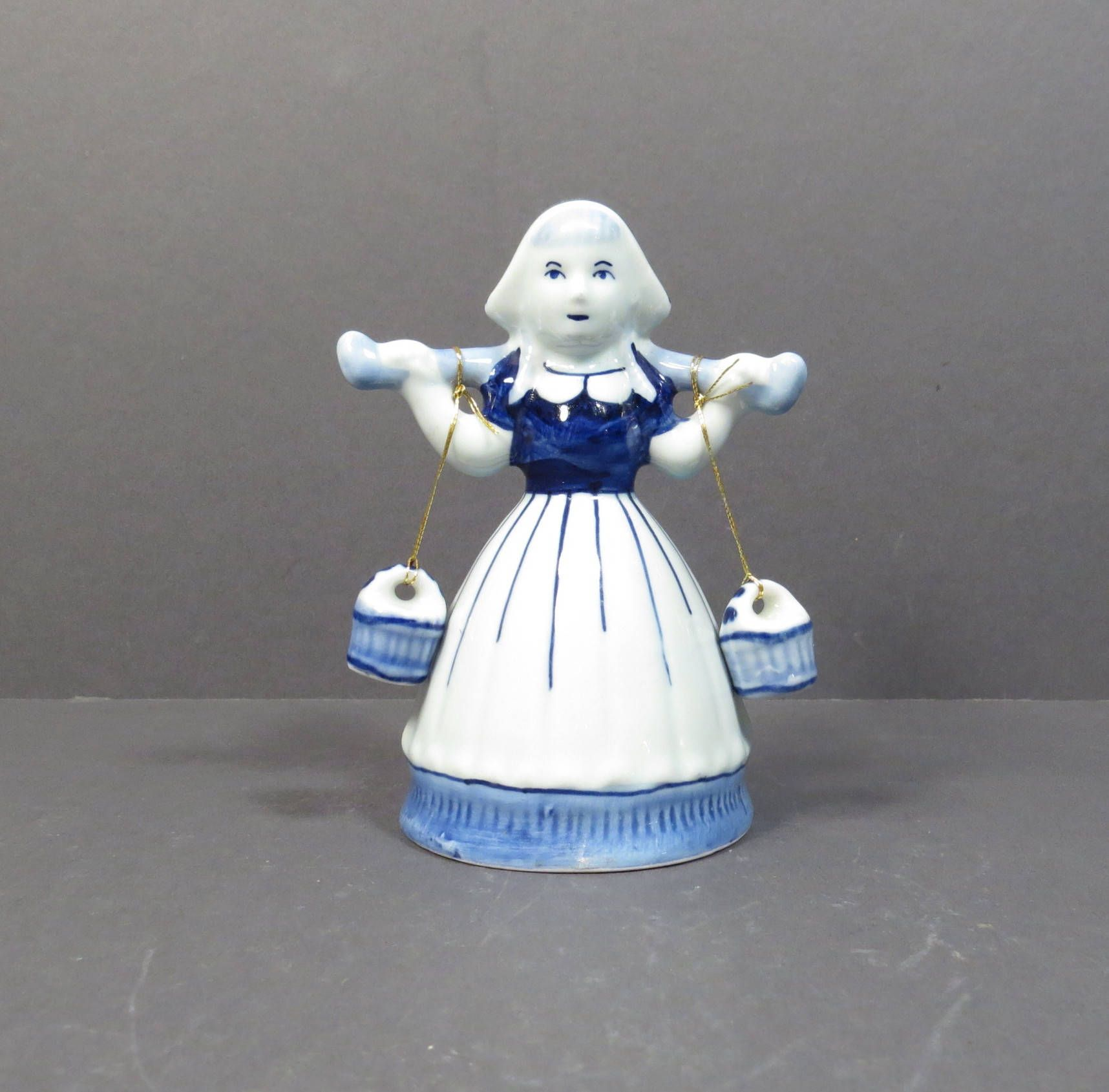 Latest Collection Of Delft Blue Dutch Milk Maid Hand Painted Beautiful And Charming Pottery & China