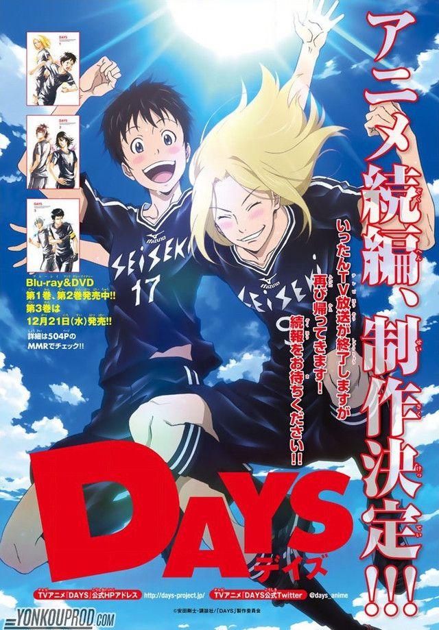 El Anime De Days Confirma Su Segunda Temporada