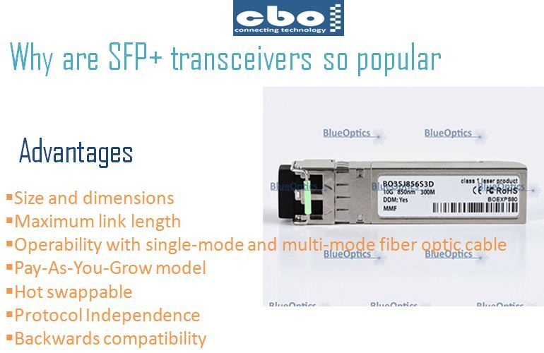The Small Form Factor Pluggable Modules Are The Most Popular Family Of Fiber Optic Transceivers Sfp Transceivers Are Used In Almost All Fiber Optic Networks