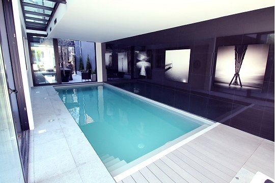 Piscine Int Rieure Contemporaine Piscine Pinterest Belle Photos Et Hauts