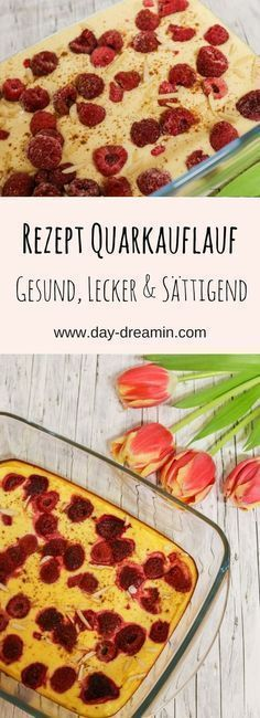 Himbeer-Quarkauflauf für ein leichtes Frühstück   Quark ...