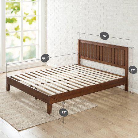 Home Solid Wood Platform Bed Wood Platform Bed