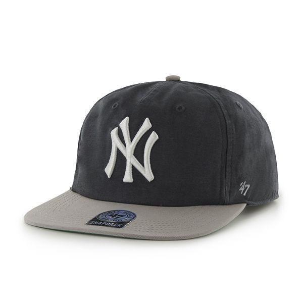e21fffff3662e New York Yankees Marvin Captain Rf Navy 47 Brand Adjustable Hat ...