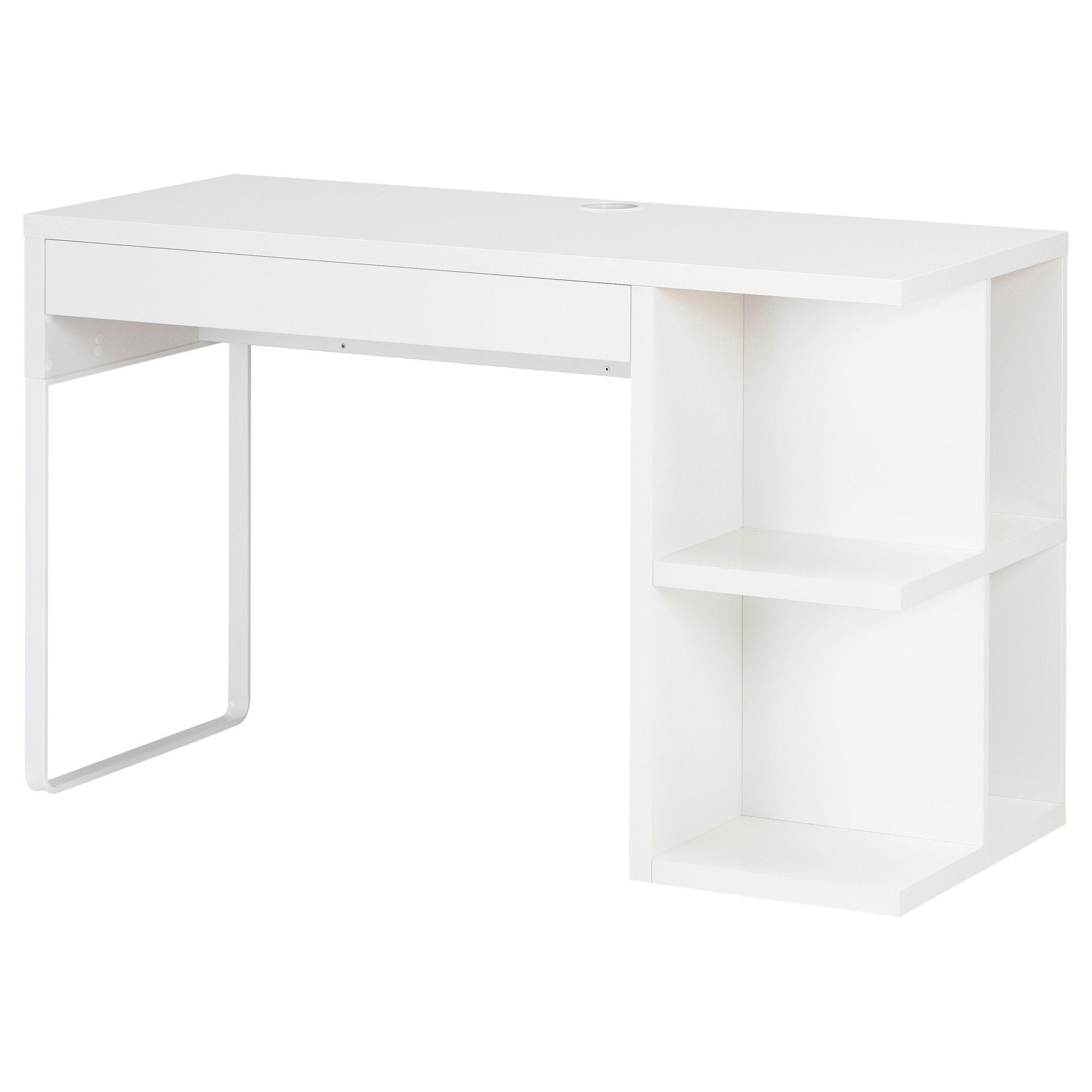 Schreibtisch weiß mit schubladen ikea  MICKE Schreibtisch mit Aufbewahrung - weiß - IKEA | Must Have ...