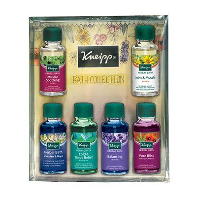 Kneipp Bath Oil Collection 6 X 20ml Herbal Bath Herbal Oil Oil Gifts