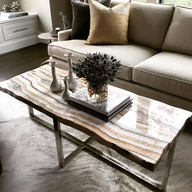 How Amazing Is Our New Onyx Coffee Table Ya Ll