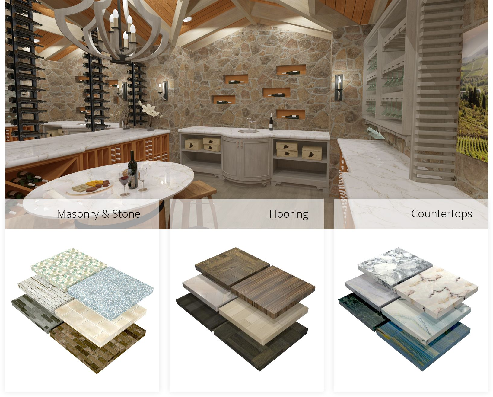 Chief Architect Has Countless Materials And Finishes As Well As