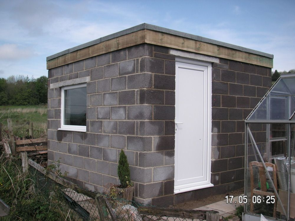 How to build a cinder block shed shed plans for free for Cost to build your own garage