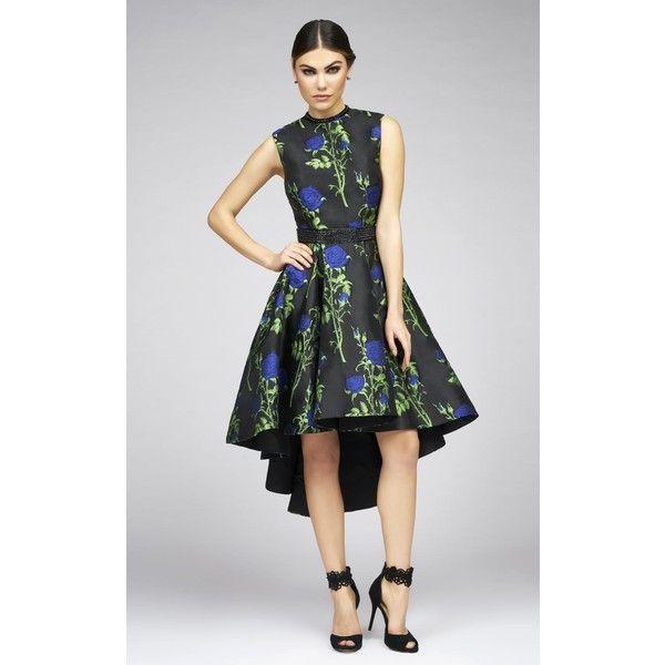 Mac Duggal 25296i Homecoming Dress High Low High Neckline Sleeveless