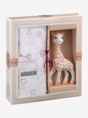 Coffret naissance Sophie la girafe VULLI beige VULLI