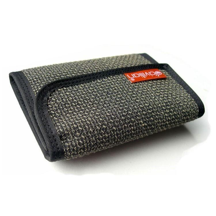 Tactical Tri Fold Clip Wallet By Civilian Lab Velcro Wallet Wallet Modern Wallet