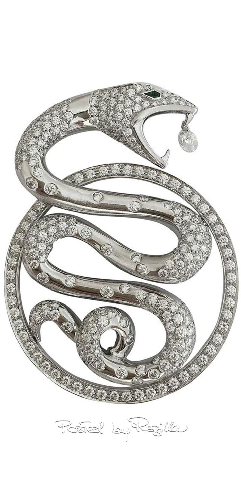 Regilla boucheron fashion passion pinterest snake snake
