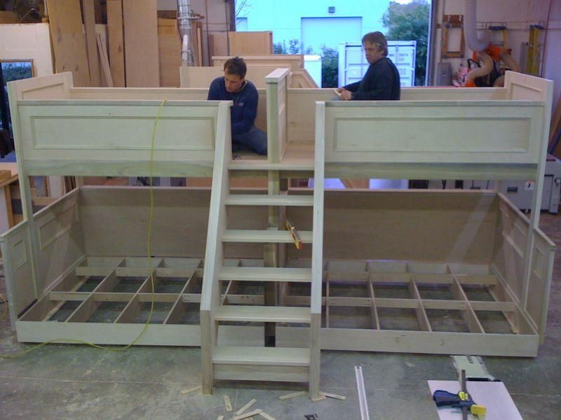 Bunk Bed Plans Bunk bed plans Build beds easily from standard lumber ...