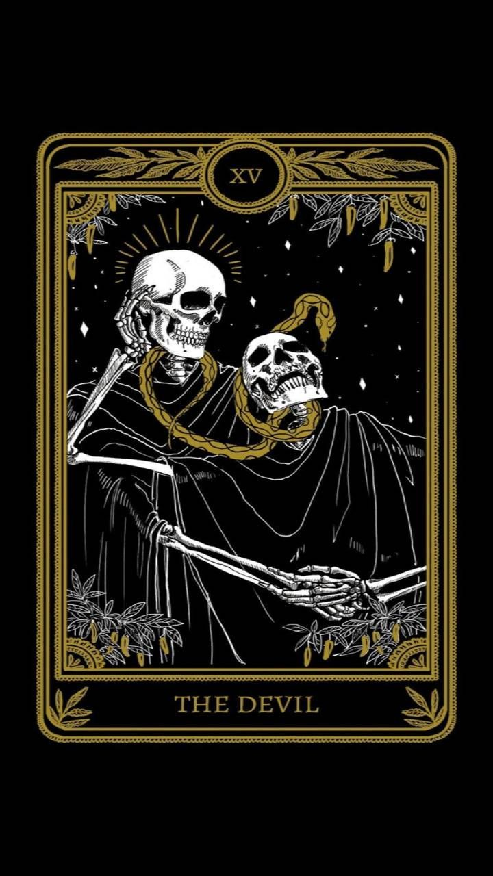 The Devil Tarot Card wallpaper by Gid5th - a4 - Free on ZEDGE™