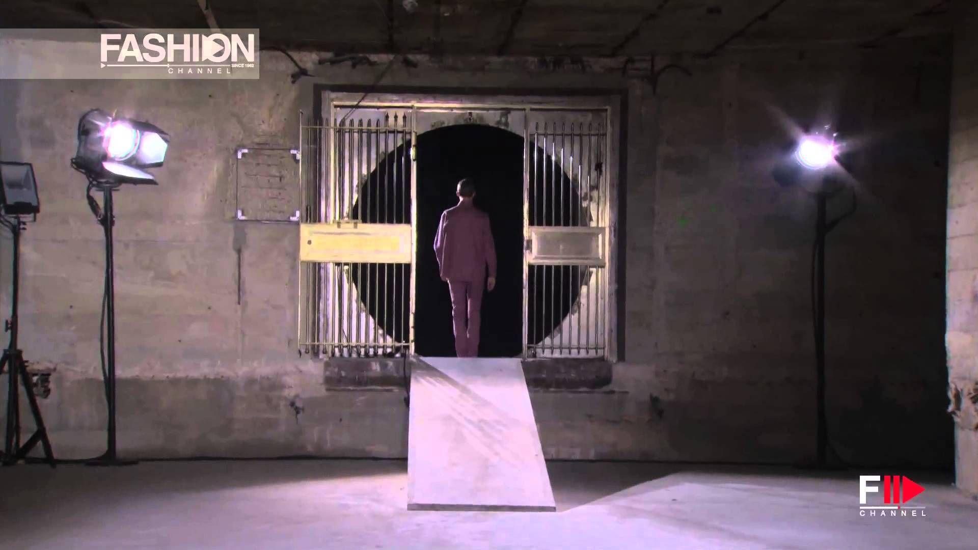 """RAF SIMON"" Menswear Spring Summer 2015 Paris Full Show by Fashion Channel"