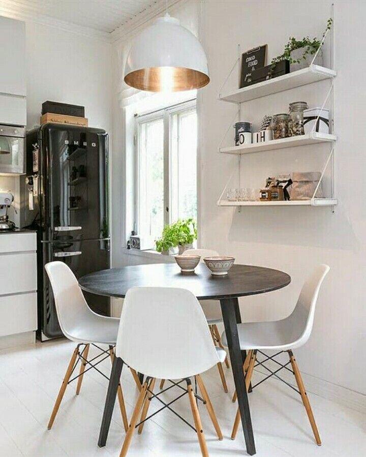 Pinruthy Porcel De Peralta On Deco Casa  Pinterest  Kitchen Unique Small Kitchen And Dining Design Design Ideas