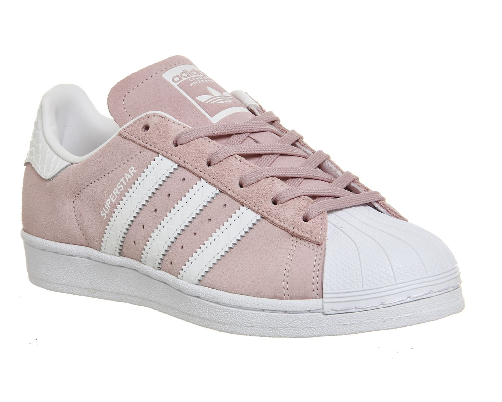 Buy Pink White Snake Adidas Superstar 1 from OFFICE.co.uk.