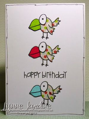 Ruby-Dooby-Doo Crafts: Happy World Cardmaking Day!