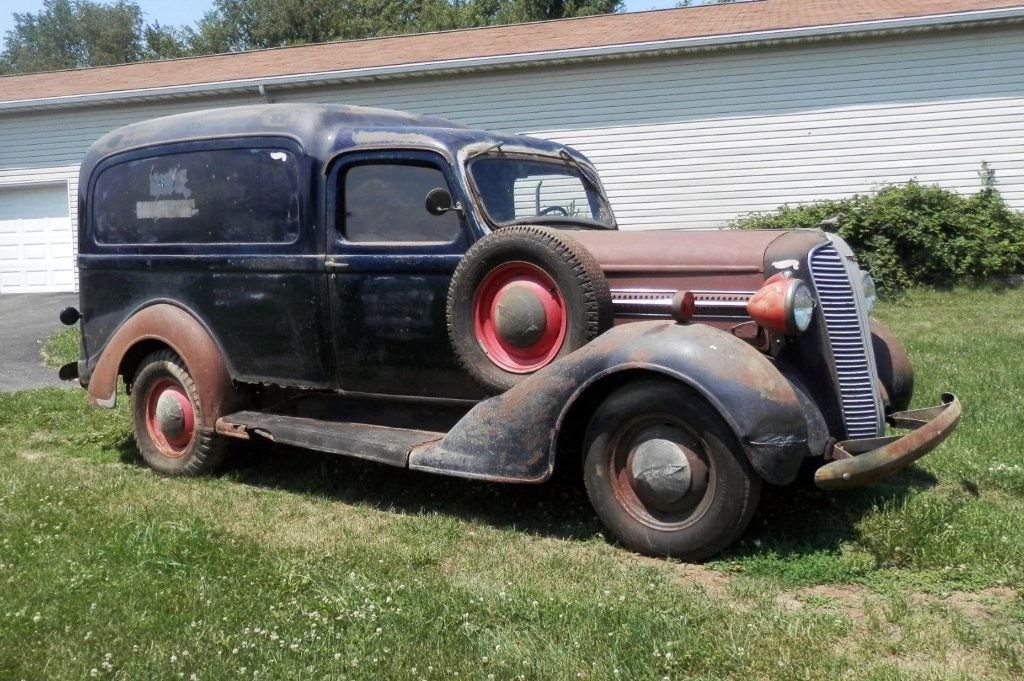 Humpback Wagon: 1937 Dodge Panel Truck | Barn finds, Dodge trucks ...
