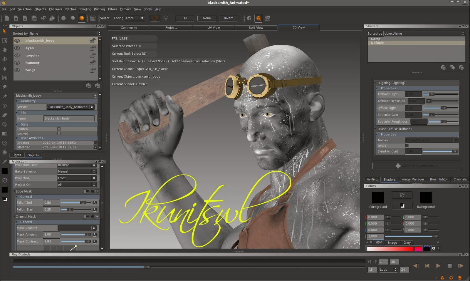 The Foundry Mari Free Download Software Store Best Animation Software Free Download 3d Painting
