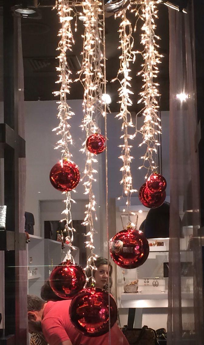 Decoração de Natal para vitrines