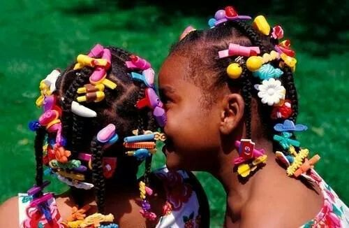 Barrettes And Bobos Blackgirlmemories Little Girl Hairstyles