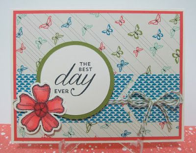 Savvy Handmade Cards: Best Day Ever Card