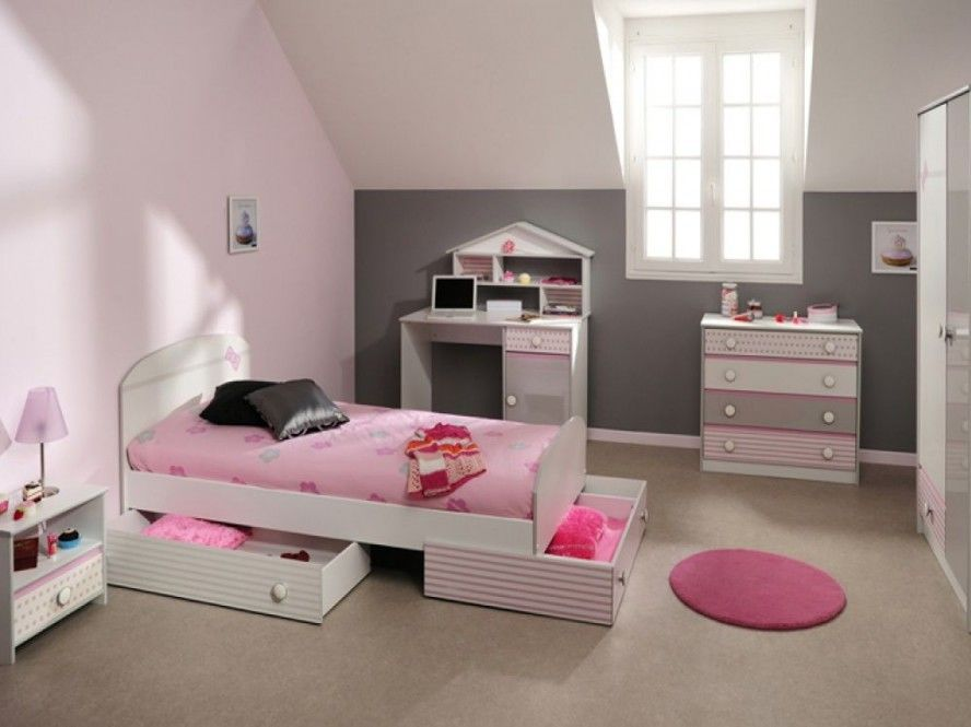 Small Girls Bedroom Girls Bedroom Interior Design Storage