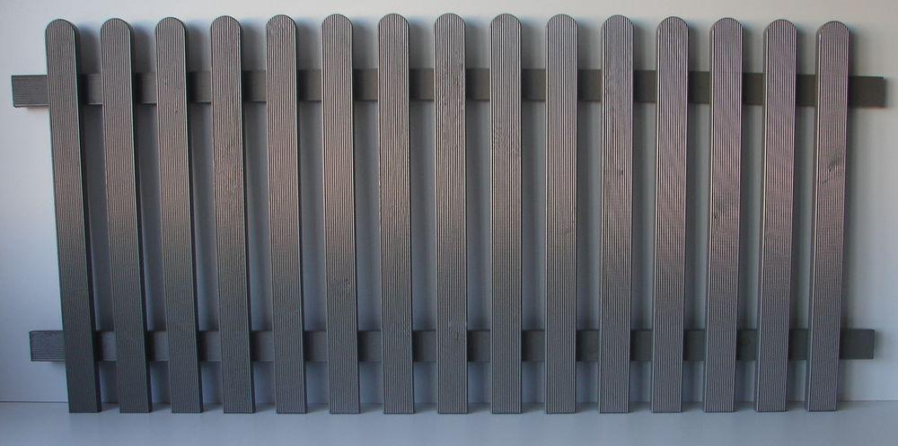 Zaunelement Kiefer graphit osmo® 189x85x5,6cm Holzzaun