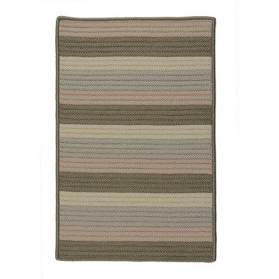 """Colonial Mills LD15 Simply Home Line Dance Grasshopper Rug Rug Size: 11' x 14' by Colonial Mills. $1400.00. LD15R132X168S Rug Size: 11' x 14' Features: -Technique: Braided.-Material: 100pct Polypropylene.-Origin: USA.-Reversible.-Stain resistant.-Fade resistant. Construction: -Construction: Hand guided. Dimensions: -Pile height: 0.5"""".-Overall Dimensions: 34-168'' Height x 22-132'' Width x 0.5'' Depth. Collection: -Collection: Simply Home Solid."""