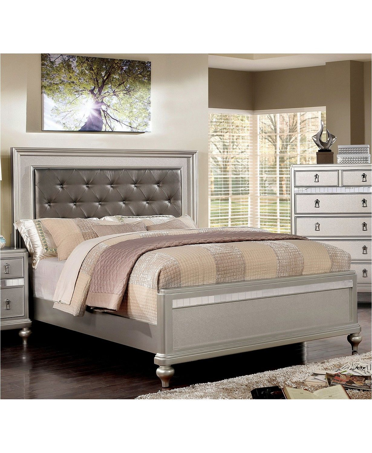 Furniture of America Appell Transitional Queen Bed