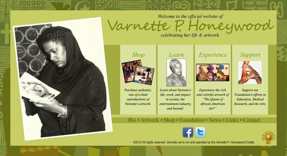 Official Website of Varnette P. Honeywood