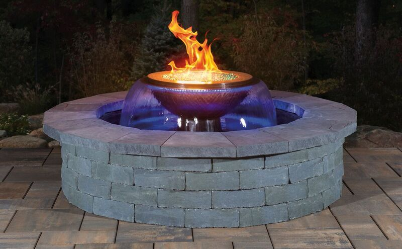 Amaze Your Guests With Stunning Fire And Water Features Around