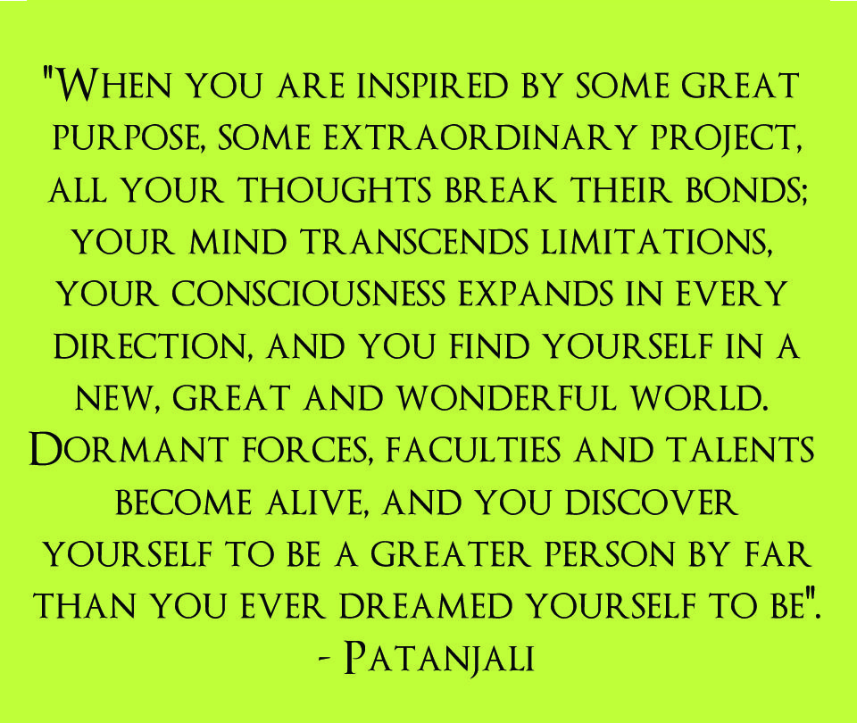 Patanjali Yoga Quote I Am SO Happy To Have Found Again 3