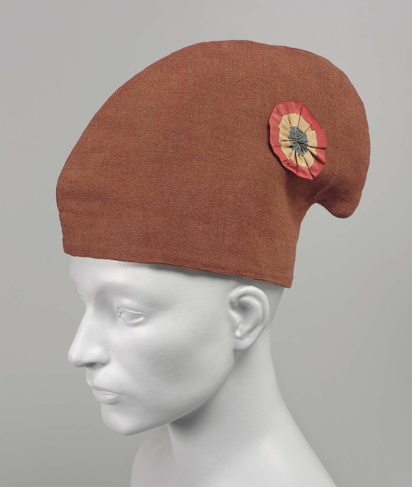 772ddb57e84 This is a photo of a French phrygian cap from the 19th century. Phrygian  caps were made of soft woolen material. It was originally worn in ancient  Rome and ...
