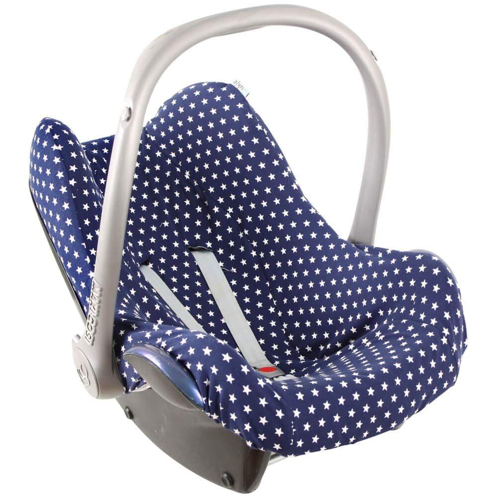 Maxi Cosi Bezug Pebble Plus Pro Cabriofix Sps Citi Rock Von Ukje Blau Sterne Recycelbar Und Umweltfreundlich Oko Tex Maxi Cosi Baby Car Seats Car Seats