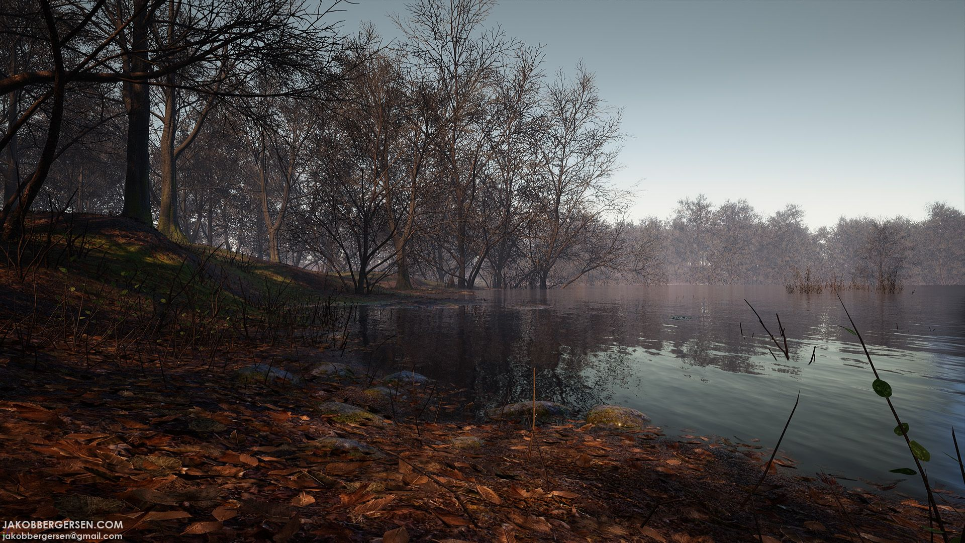 UE4, Lake Env  | UE4: Pic | Unreal engine, Environment