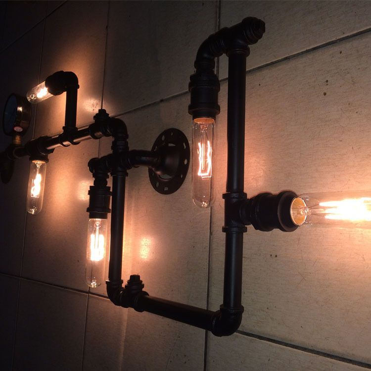 Charming Cheap Light Moto, Buy Quality Light Sky Directly From China Cafe Decor For  Kitchen Suppliers: Industrial Pipe Wall Lamp Wall Lamp Vintage Style  Clothing ...