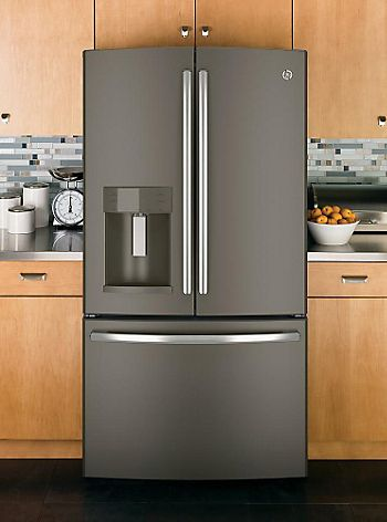 GE slate gray appliance color with lighter cabinets | Ideas: Kitchen ...