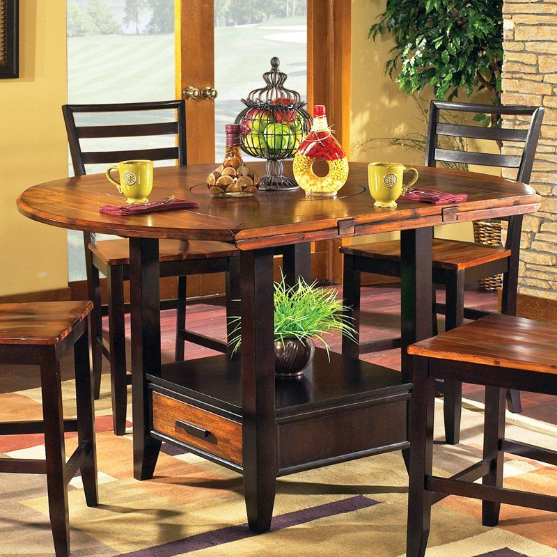 steve silver abaco counter height dining table with