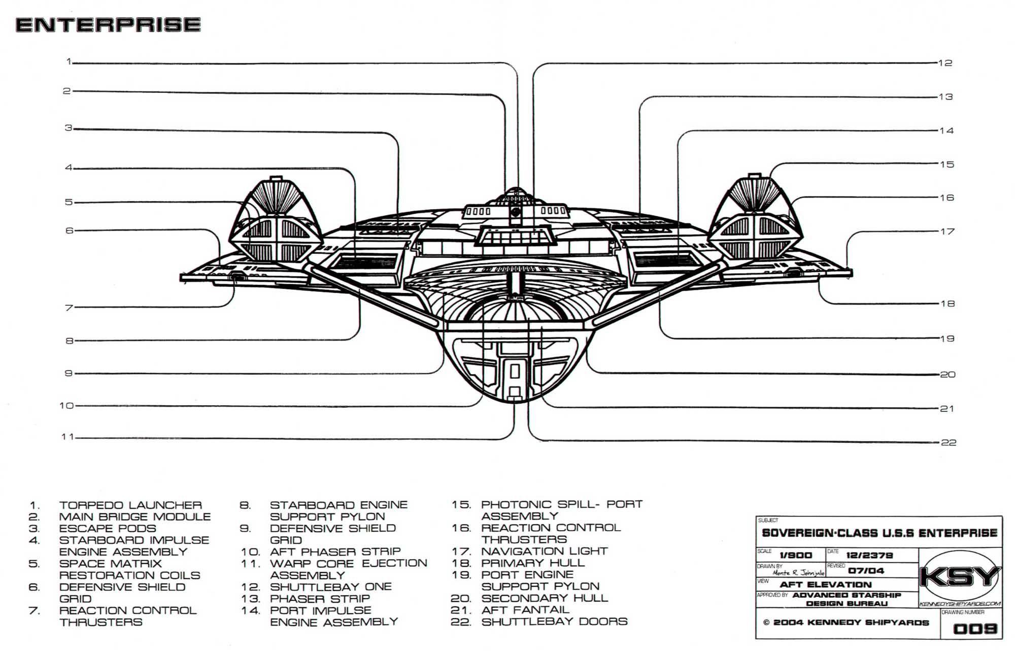 Uss enterprise ncc 1701 d galaxy class saucer separation r flickr - Star Trek Blueprints Sovereign Class Federation Starship U S S Enterprise Ncc 1701 E