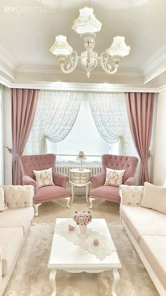 Pin by Andrea Ribarich on Shabby Chic | Living room decor ...