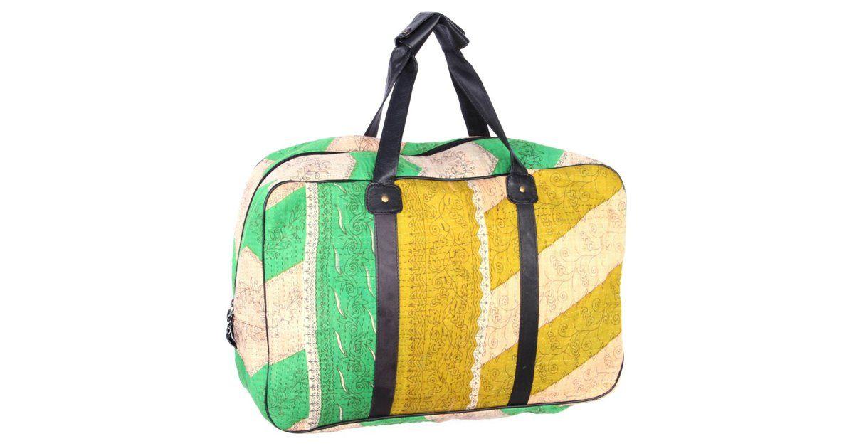 Overnight Kantha Bag, Amalfi $149