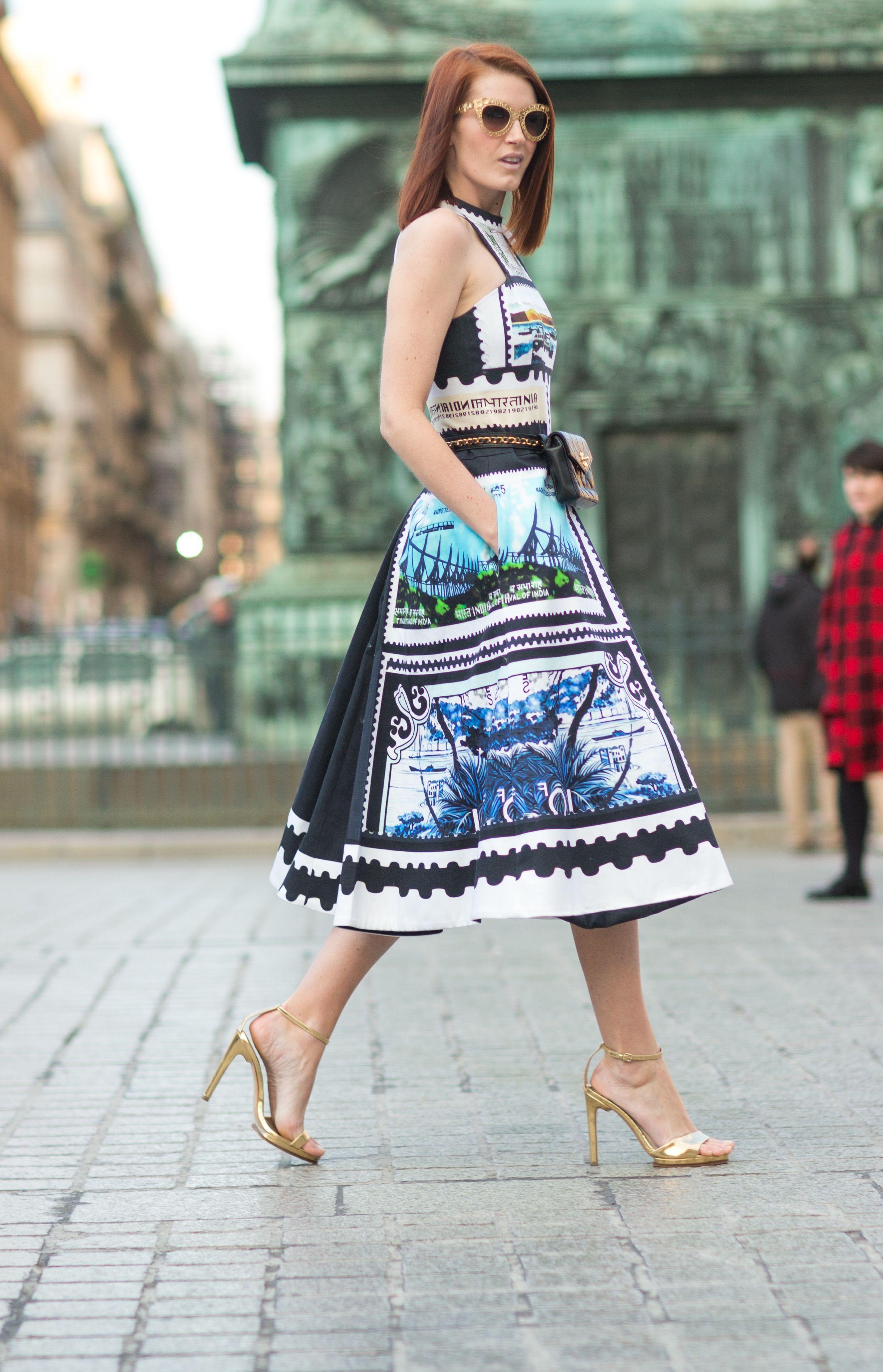#Street #Fashion #Snap from Paris fashion week.