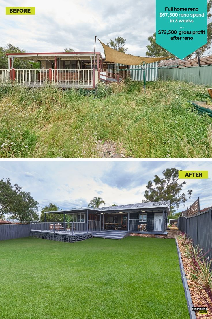 Before And After ... #Flipping Houses Can Produce A Great