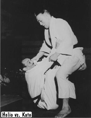 Helio Gracie's match with Kato in 1951  This match was needed in