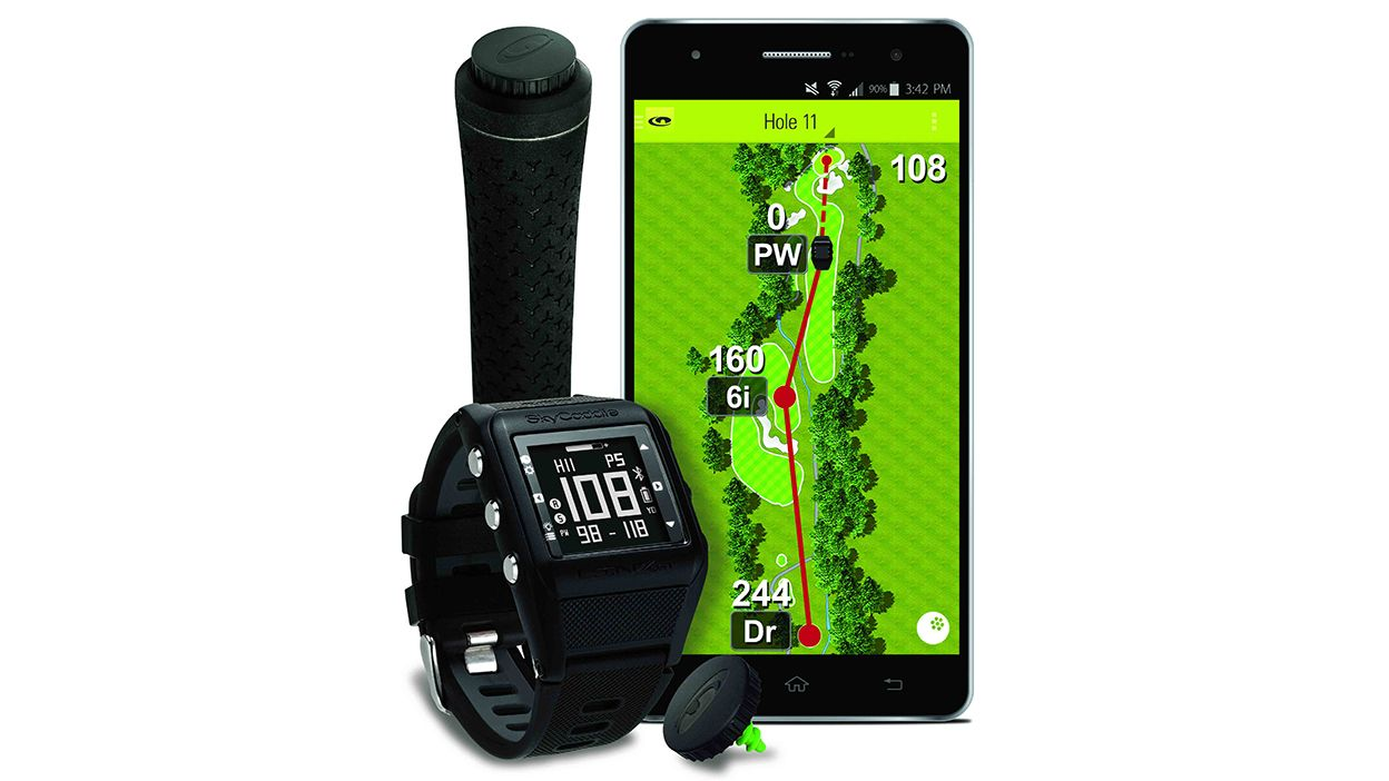 SkyCaddie Linx GT (With images) Golf gps watch, Golf