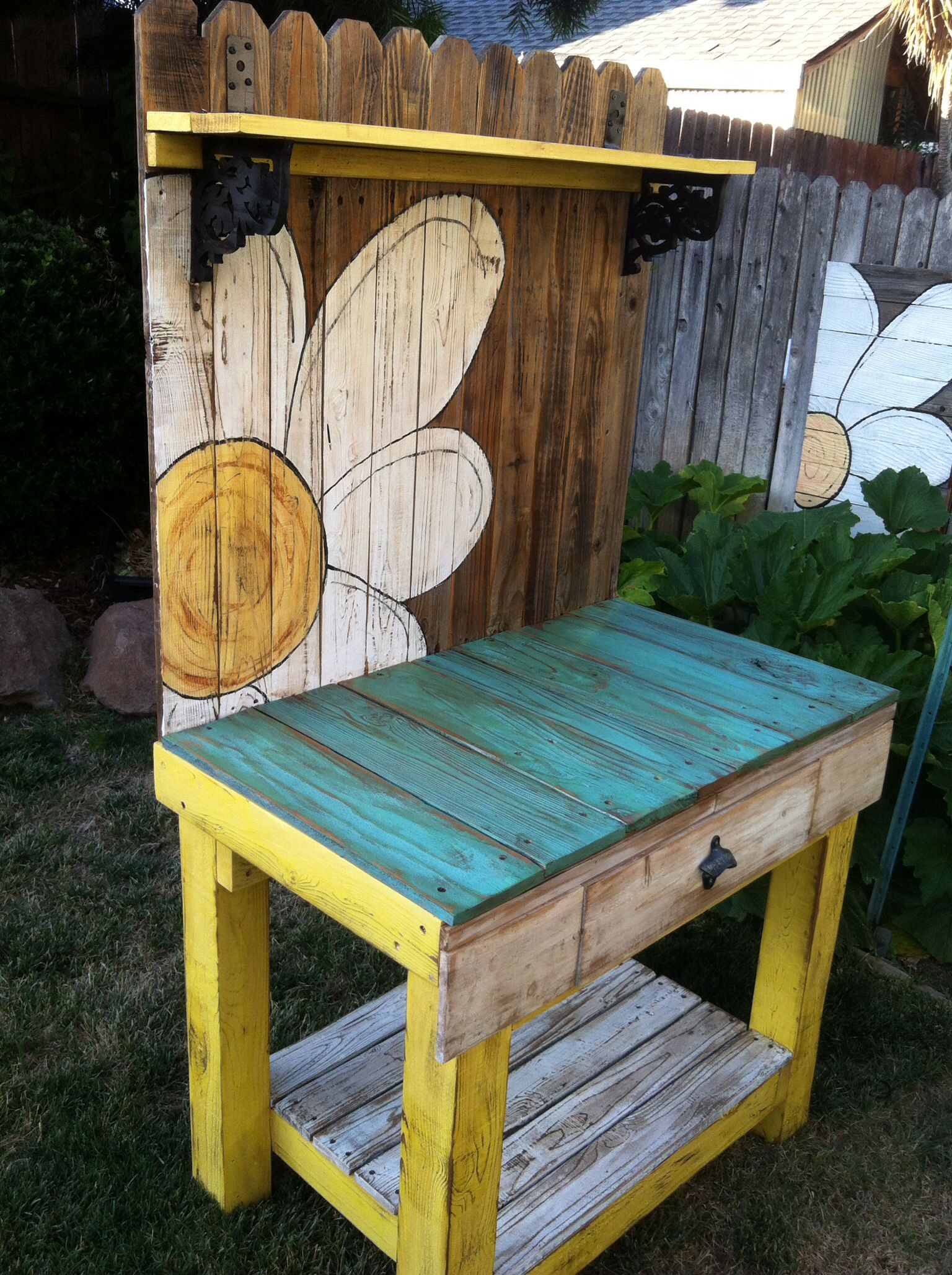 New bench form an old fence | fence boards | Pinterest | Fences ...