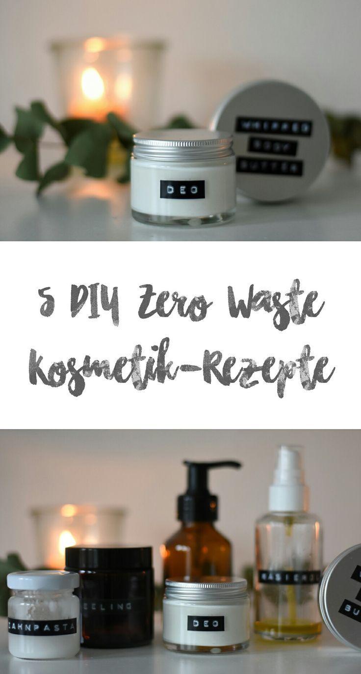 5 einfache DIY-Kosmetik-Rezepte - Tiny Green Footsteps